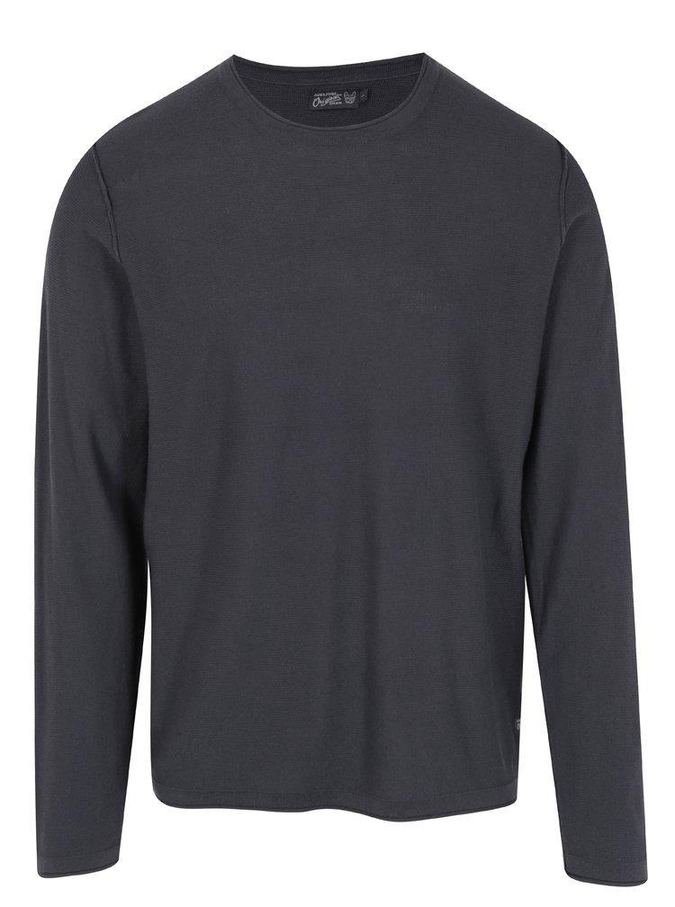 Tmavě šedý svetr Jack & Jones Originals Rick