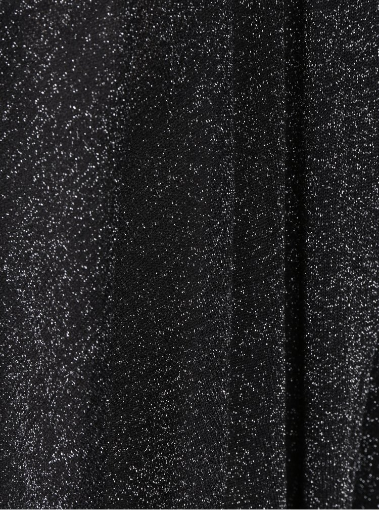Černý třpytivý kardigan Yest