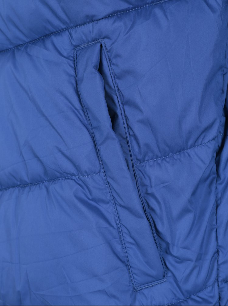 Geaca barbateasca albastra matlasata Jack & Jones Originals Landing