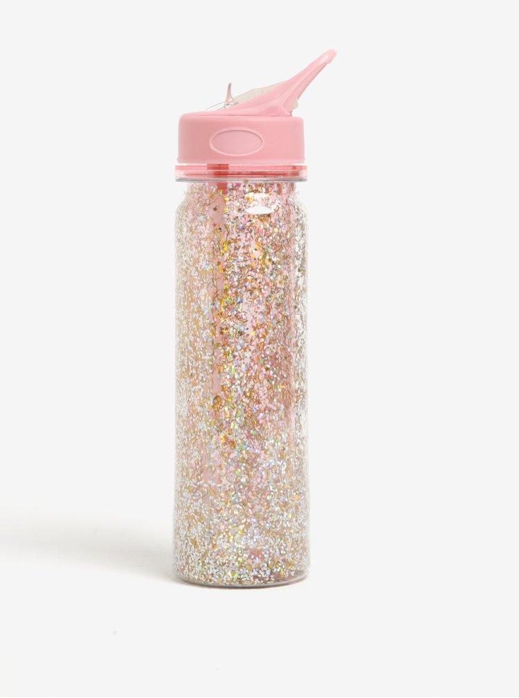Sticla roz cu sclipici - ban.do Pink stardust