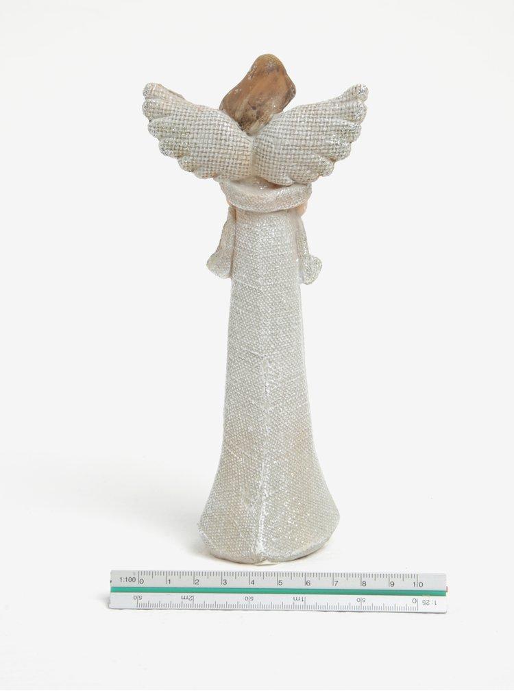 Soška anděla se srdcem Dakls