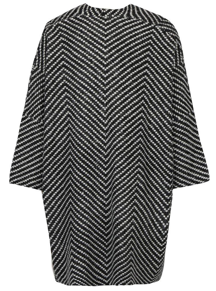 Krémovo-černý dámský vzorovaný kardigan Broadway Seraphia