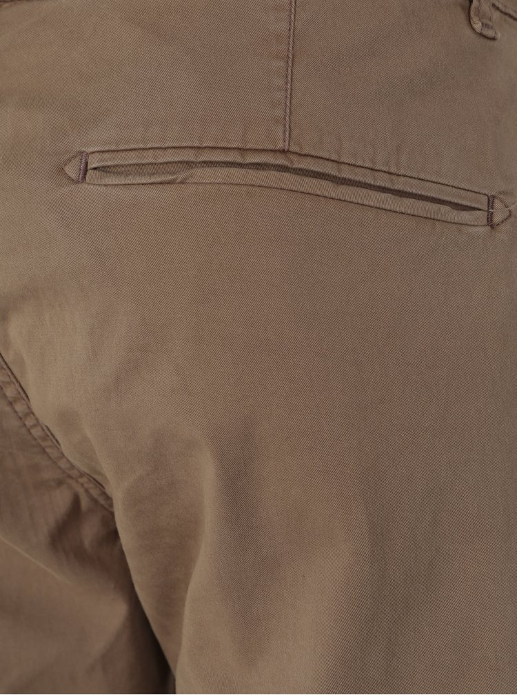 Pantaloni chino maro pentru barbati  Broadway Wayne