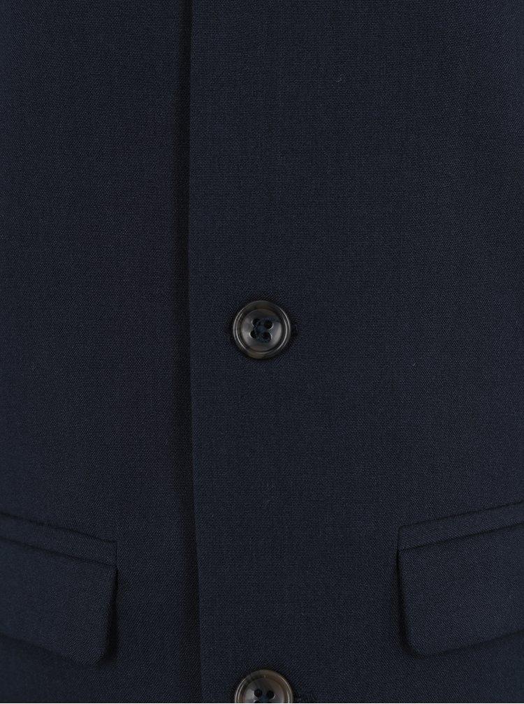 Tmavě modrá klučičí vesta name it Mingemann