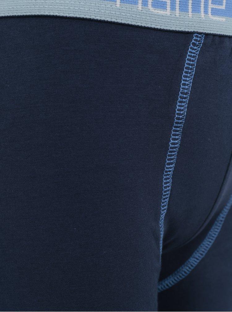 Modré klučičí podvlékací kalhoty Name it Varnyva