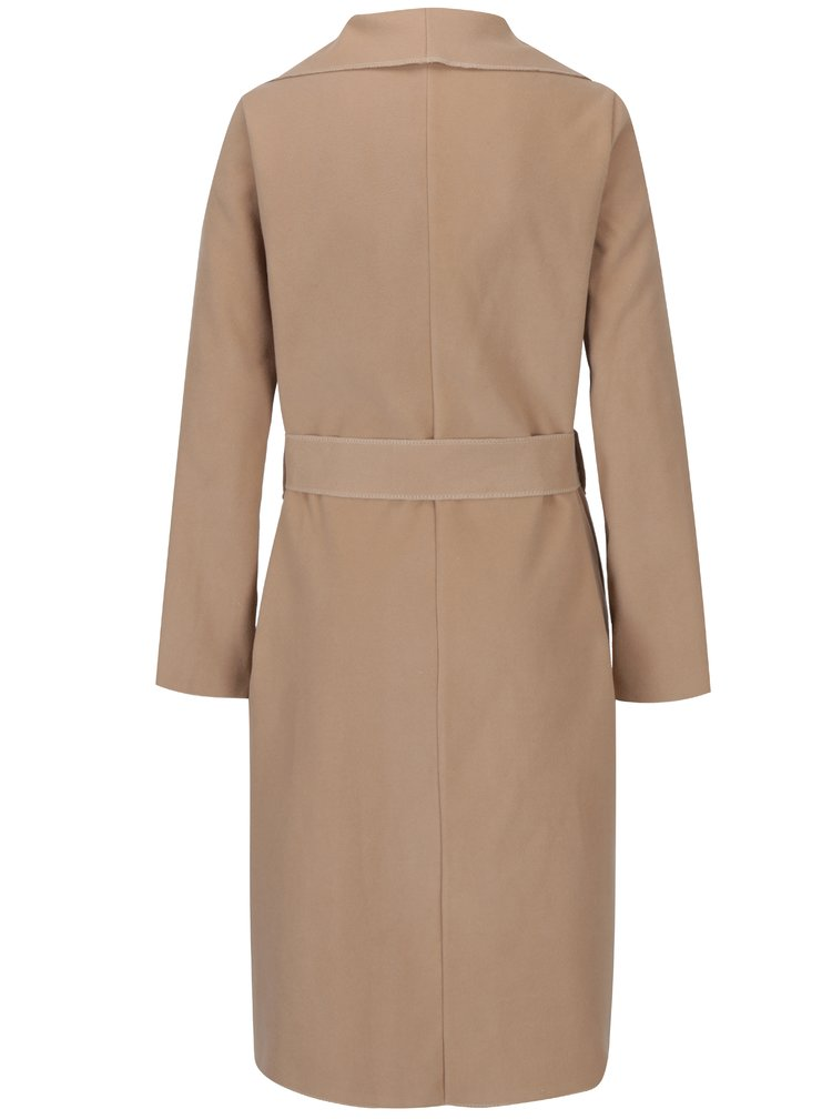 Hnědý lehký kabát s kapsami Haily´s Luana