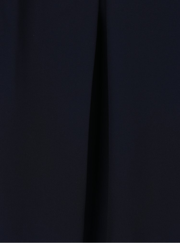 Top bleumarin cu decolteu si spate decupat - Haily´s Elena