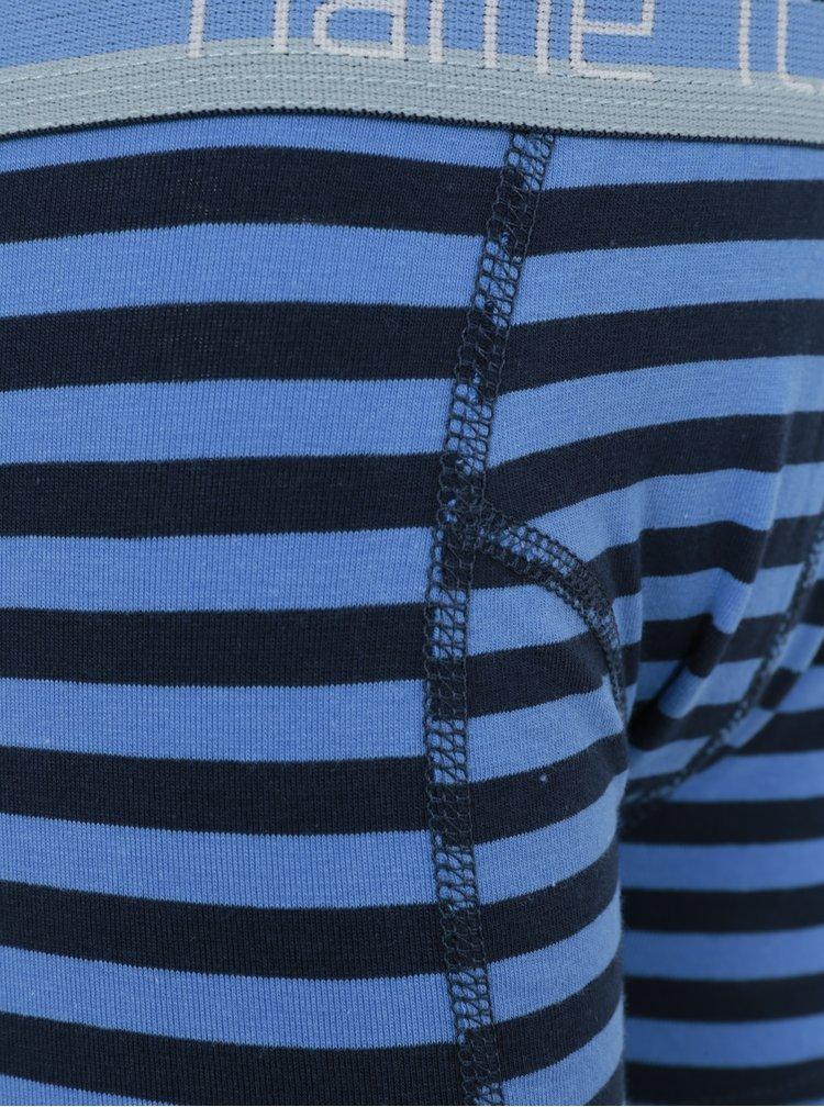 Modré klučičí pruhované boxerky name it Vionava