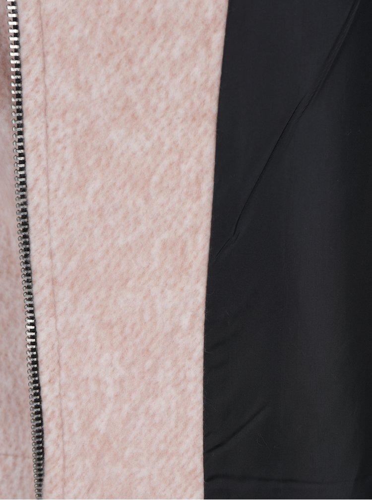 Růžový lehký krátký kabát Haily´s Serena