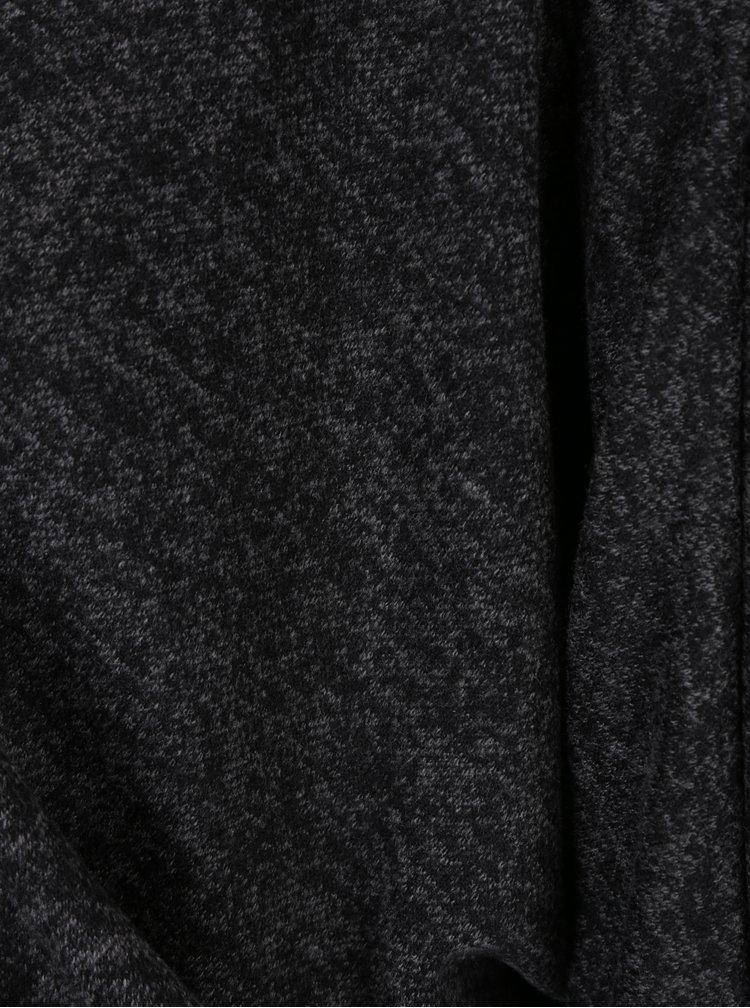 Tmavě šedý dlouhý žíhaný kardigan Haily´s Emma