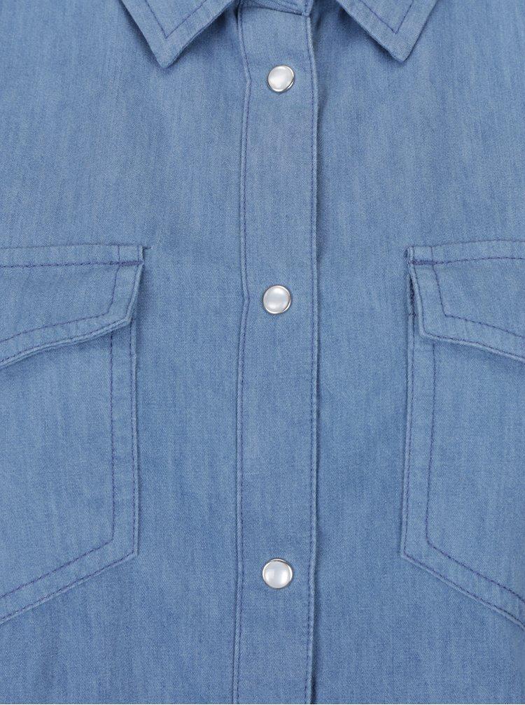 Modrá dámská džínová košile Roxy Light of Down