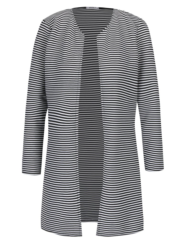 Černo-bílé pruhované sako Haily´s Sandy