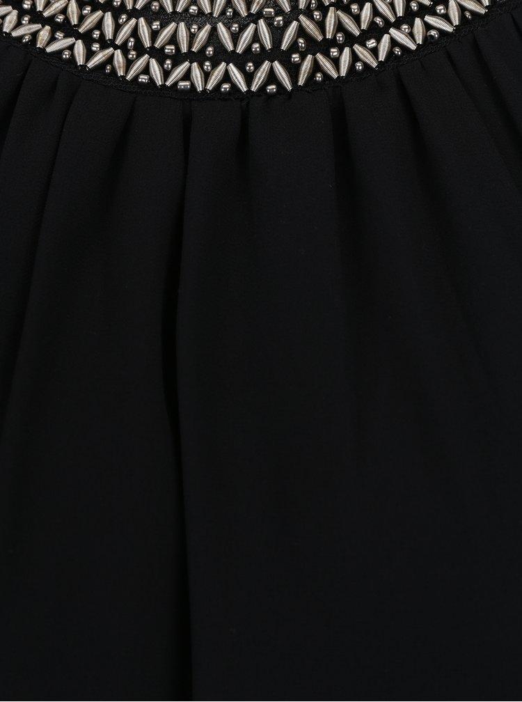 Černé šaty bez rukávů Haily´s Marlene