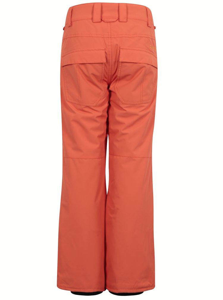 Oranžové chlapčenské nepremokavé otepľovačky Quiksilver