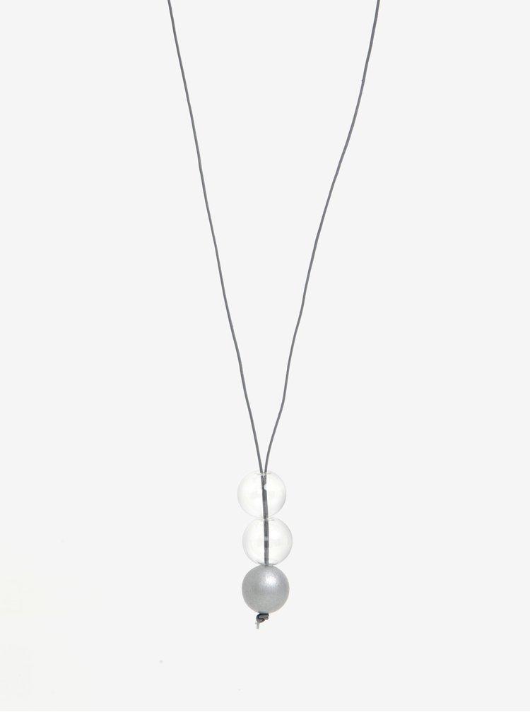 Náhrdelník ve stříbrné barvě KO-RA-LE Ball