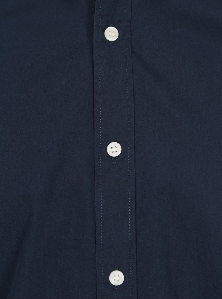 Tmavě modrá formální slim fit košile Selected Homme