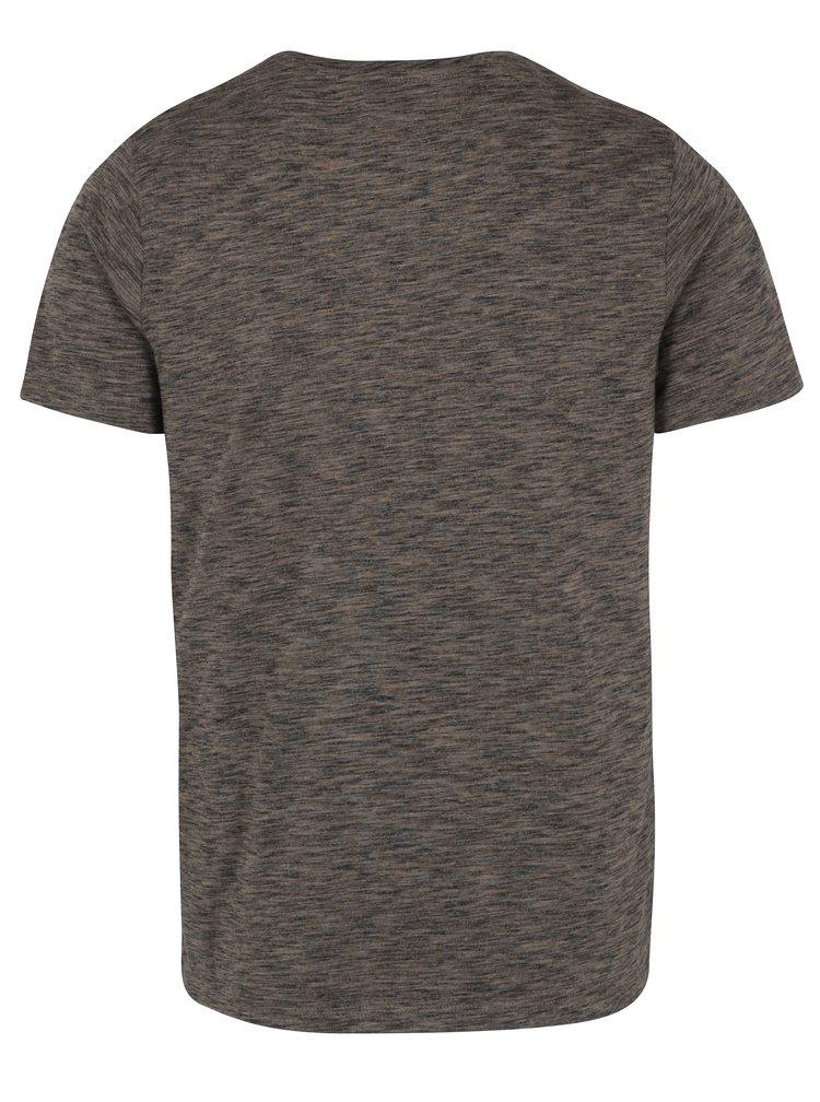 Šedé žíhané tričko Selected Homme Richard