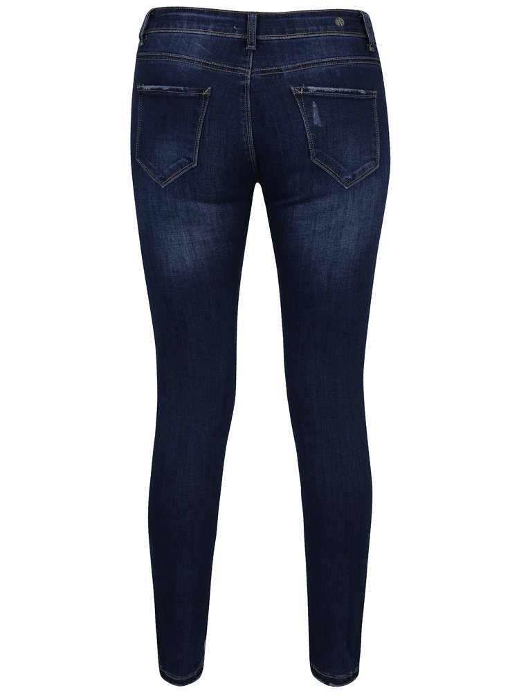 Tmavě modré slim fit džíny Haily´s Myria