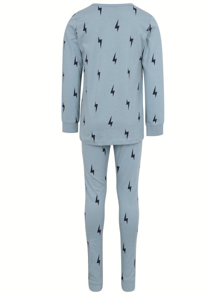 Petrolejové klučičí pyžamo s potiskem name it Misto