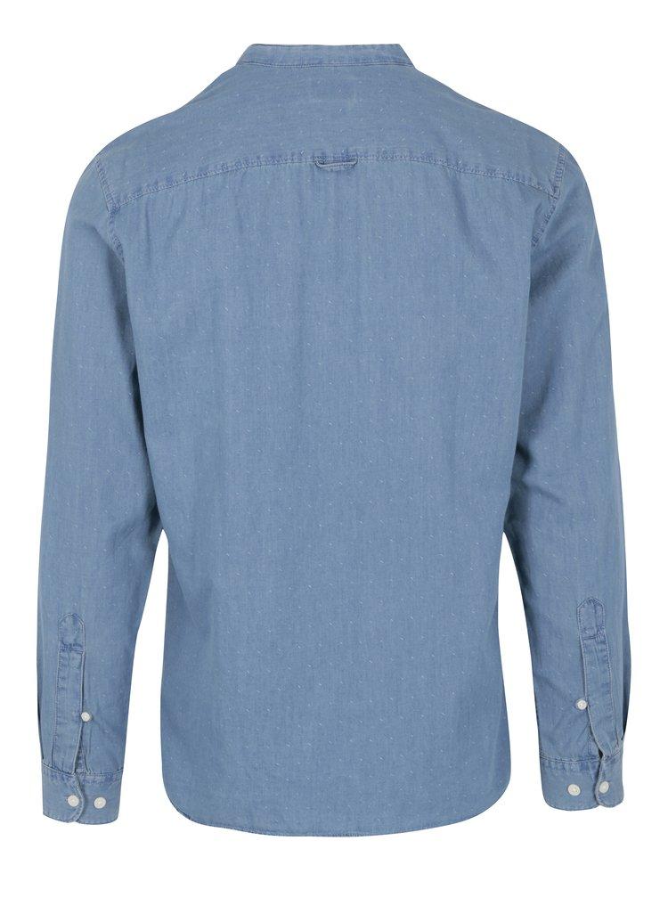 Camasa slim fit albastru deschis cu model marunt Selected Homme One Robert