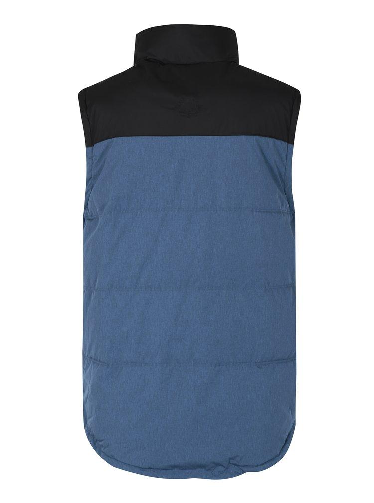Modrá pánská nepromokavá vesta MEATFLY West 2