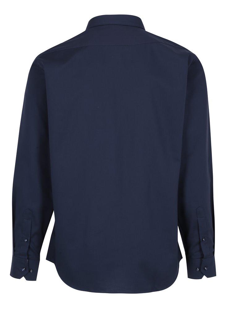 Tmavě modrá pánská formální košile Seven Seas