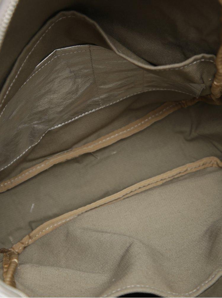 Batoh ve stříbrné barvě UASHMAMA® Memmo