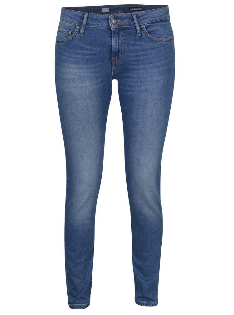 Modré dámské skinny džíny s nízkým pasem Tommy Hilfiger Sarah