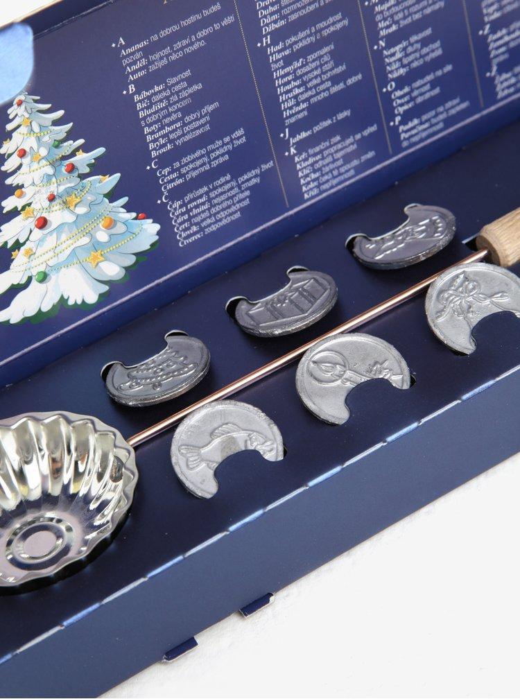 Vianočné liatie olova