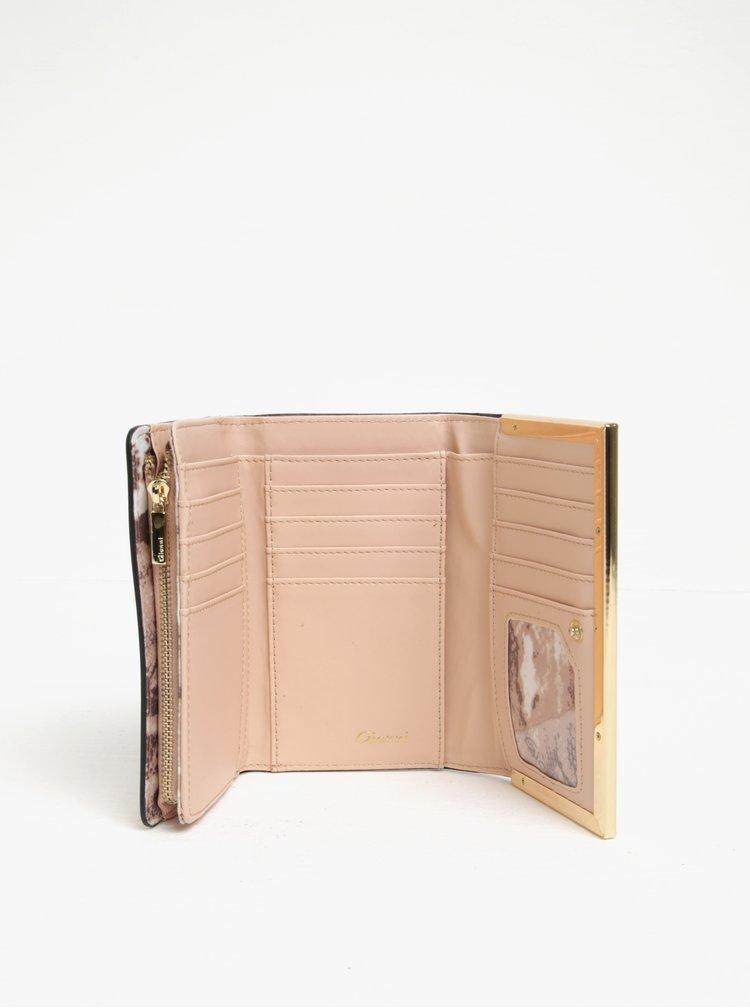 Portofel roz cu detalii aurii - Gionni Colette