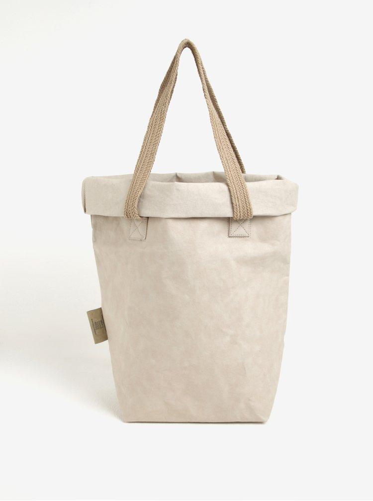 Béžový shopper UASHMAMA® Carry Two