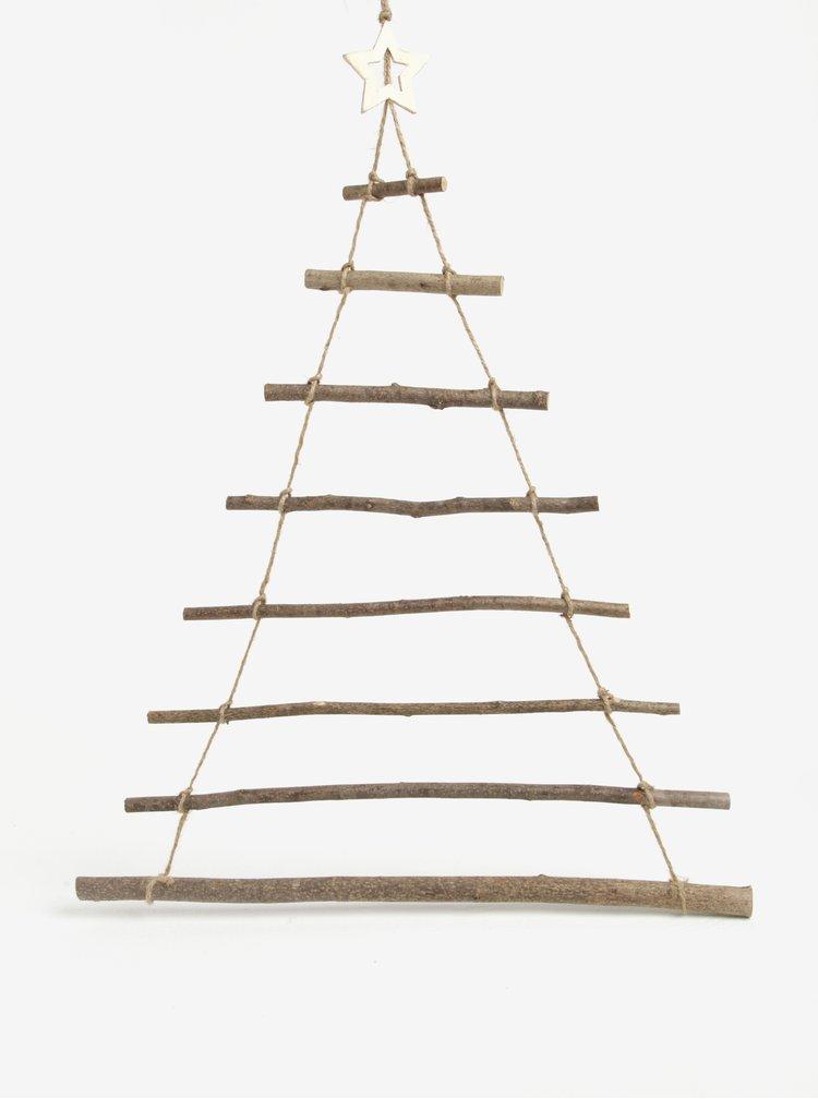 Dřevěná dekorace ve tvaru stromku Sass & Belle