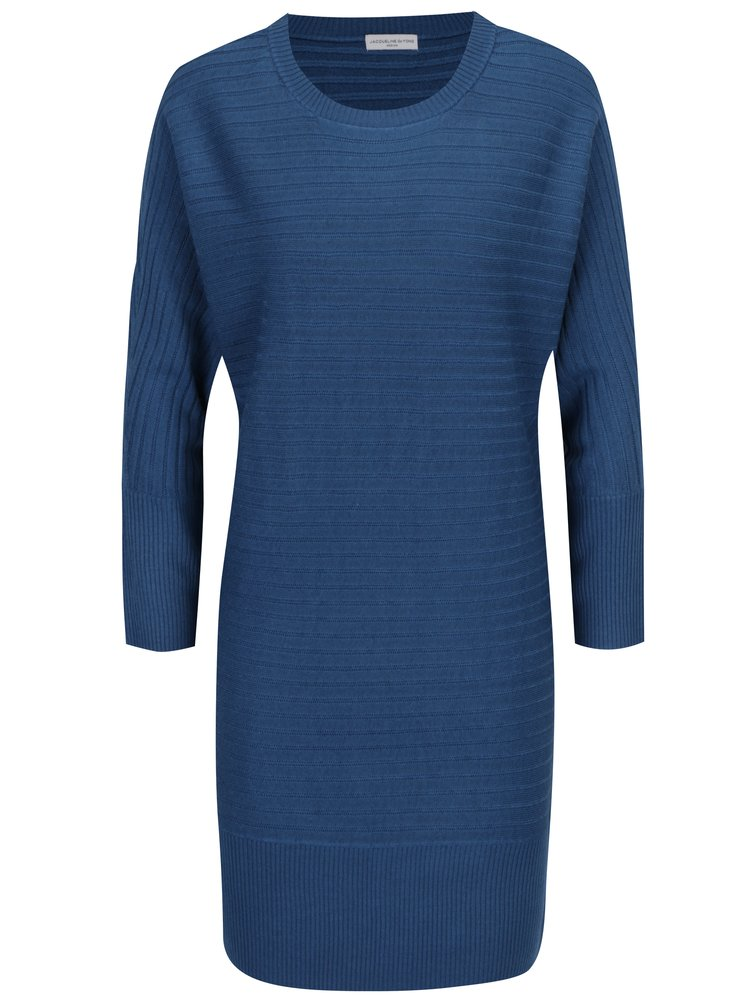 Tmavě modré svetrové šaty Jacqueline de Yong