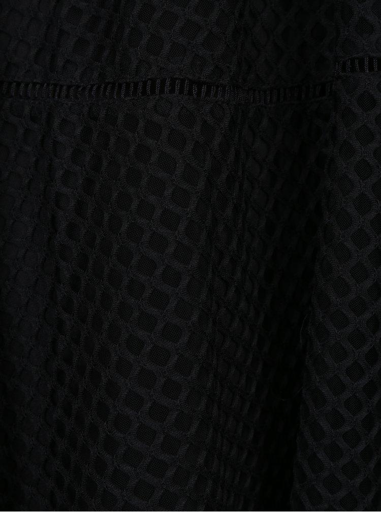 Černá midi sukně Apricot