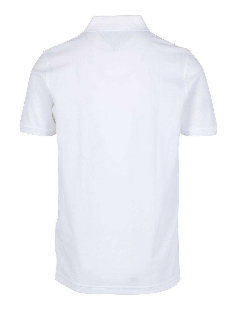 Bílé pánské polo tričko  Tommy Hilfiger Luxury