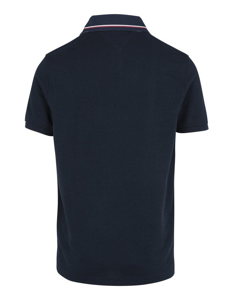 Tmavě modré pánské polo tričko Tommy Hilfiger Carl