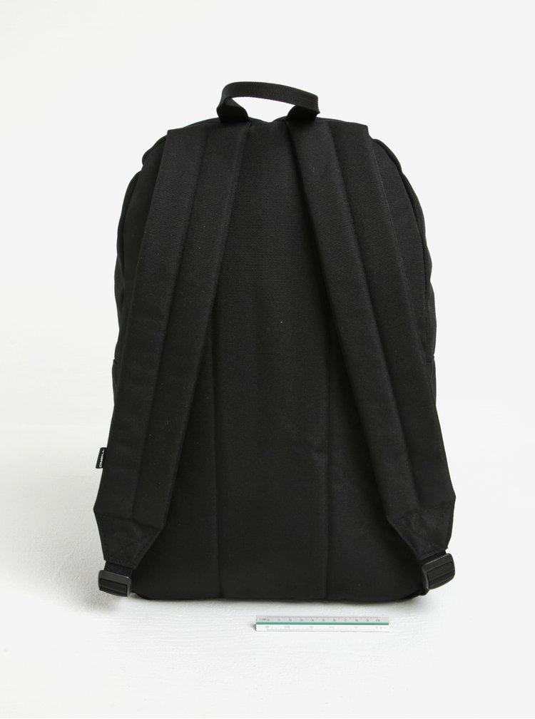 Čierny batoh s predným vreckom O'Neill 20 l