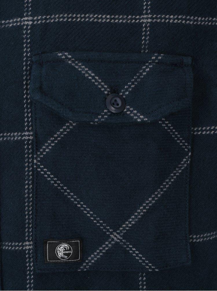 Modrá kostkovaná košile O'Neill