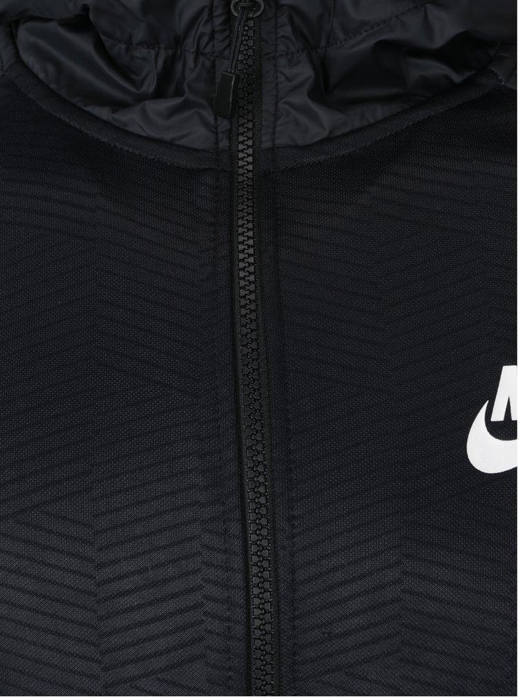 Hanorac negru&gri pentru barbati - Nike NSW