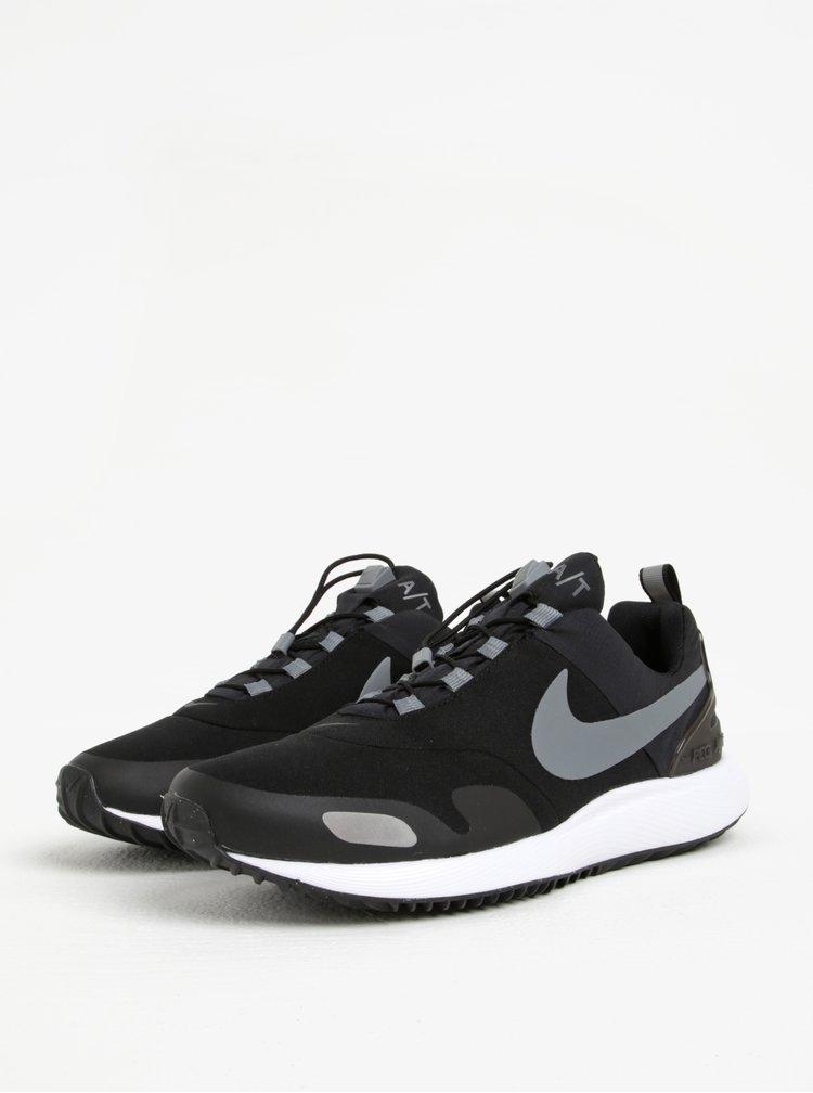 Pantofi sport gri cu negru barbatesti pentru iarna Nike Air Pegasus AT
