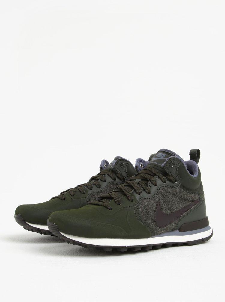 Ghete sport verde inchis pentru barbati Nike Internationalist Utility