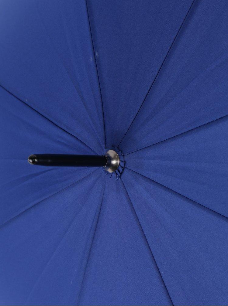 Tmavě modrý vystřelovací deštník Derby