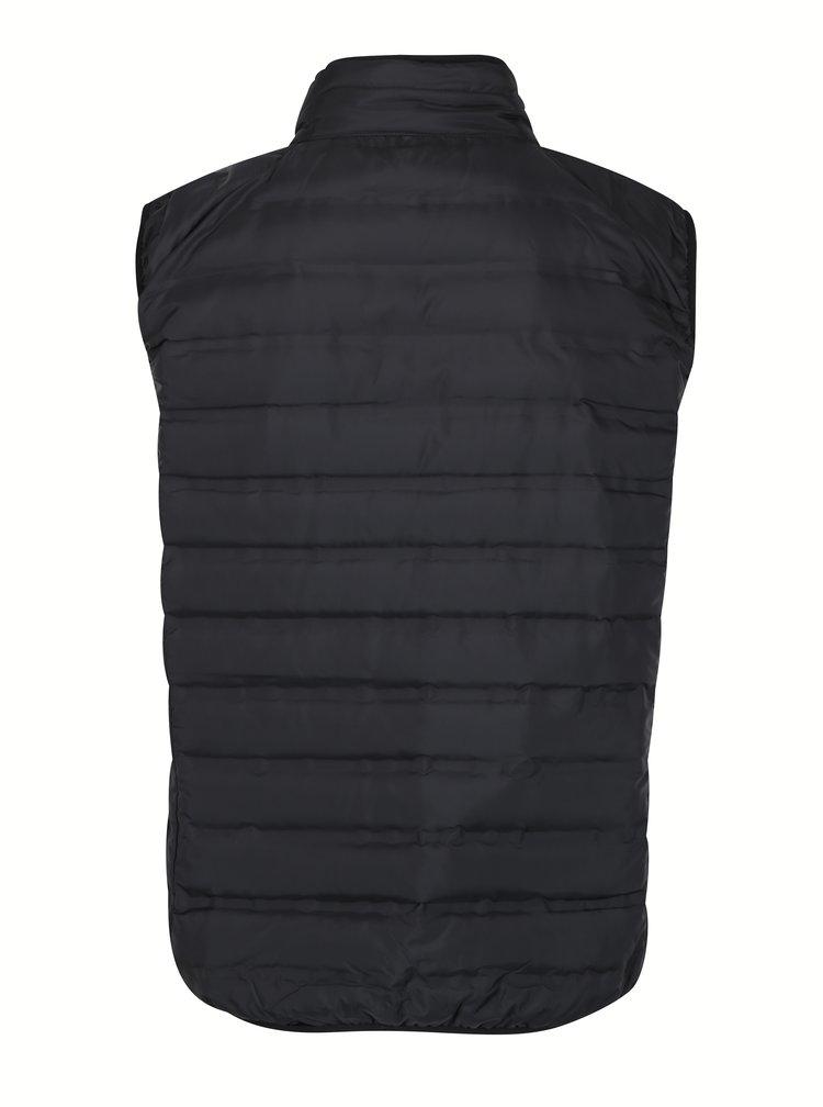 Vesta matlasata neagra impermeabila si rezistena la vant LOAP Itep
