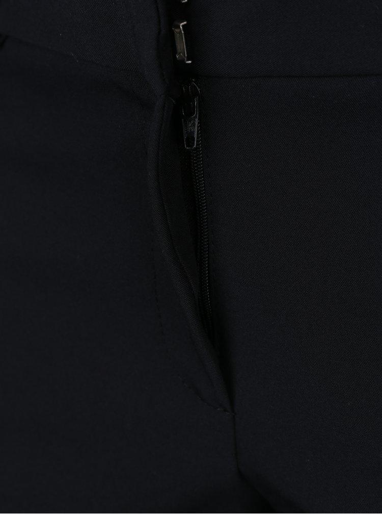 Pantaloni negri scurtati - Dorothy Perkins Petite