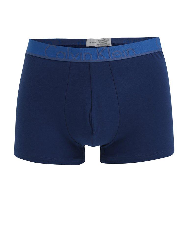 Sada dvou boxerek v modré barvě Calvin Klein Underwear