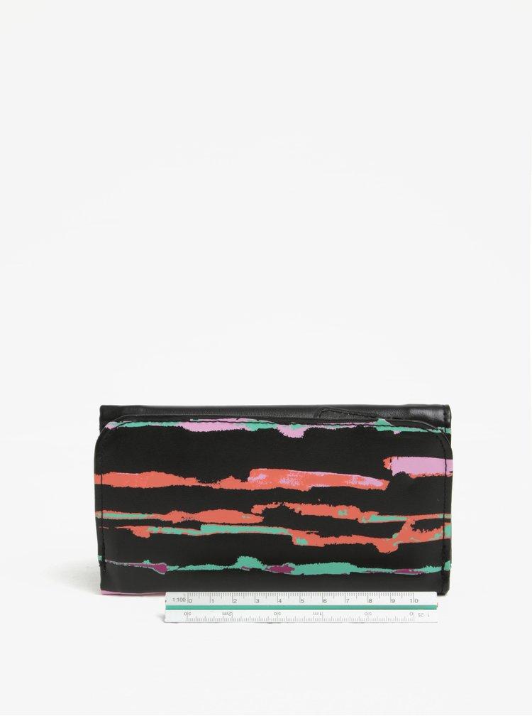 Černá dámská vzorovaná peněženka NUGGET Elise