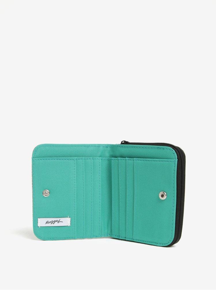 Sivá pánska peňaženka NUGGET Leticia