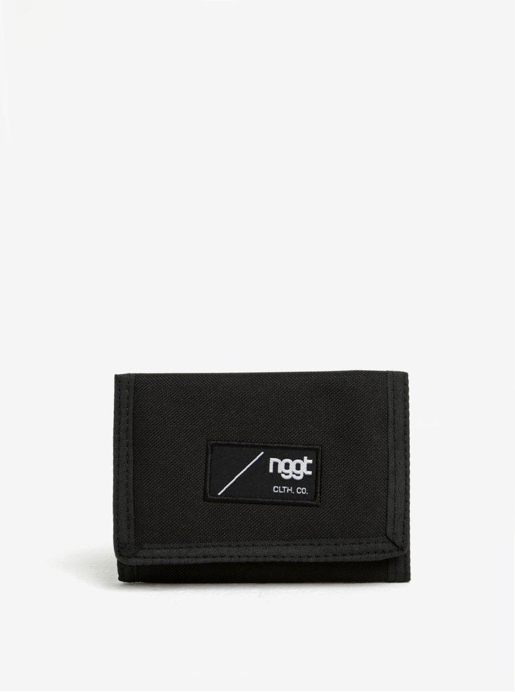 Černá pánská peněženka NUGGET Uniform
