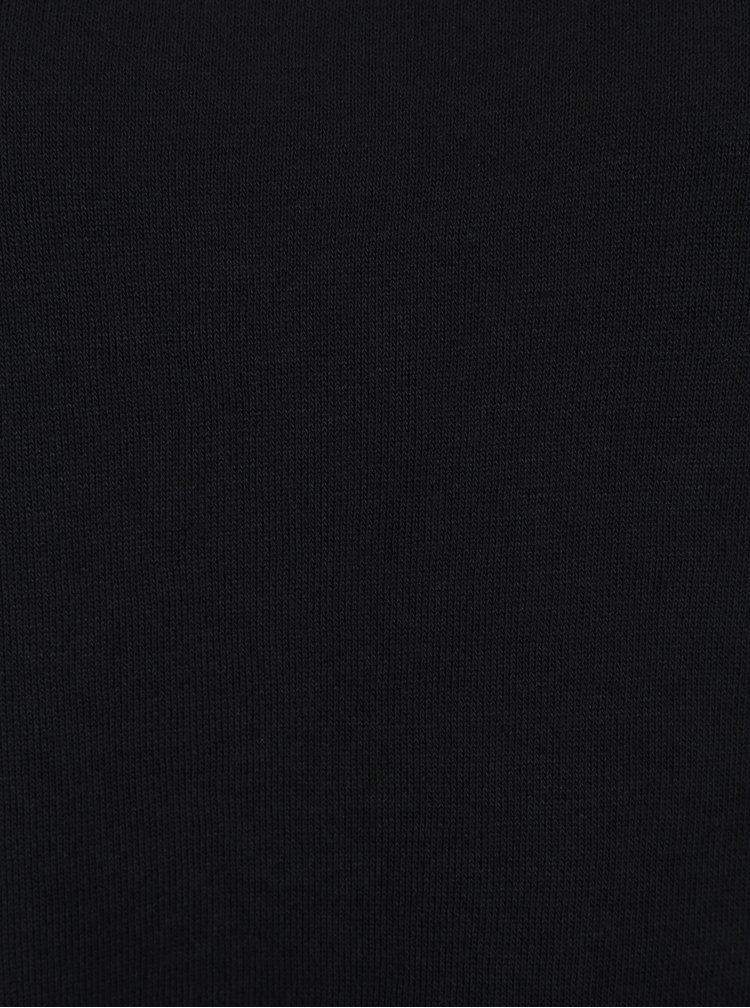 Černé mikinové minišaty Jacqueline de Yong Provel