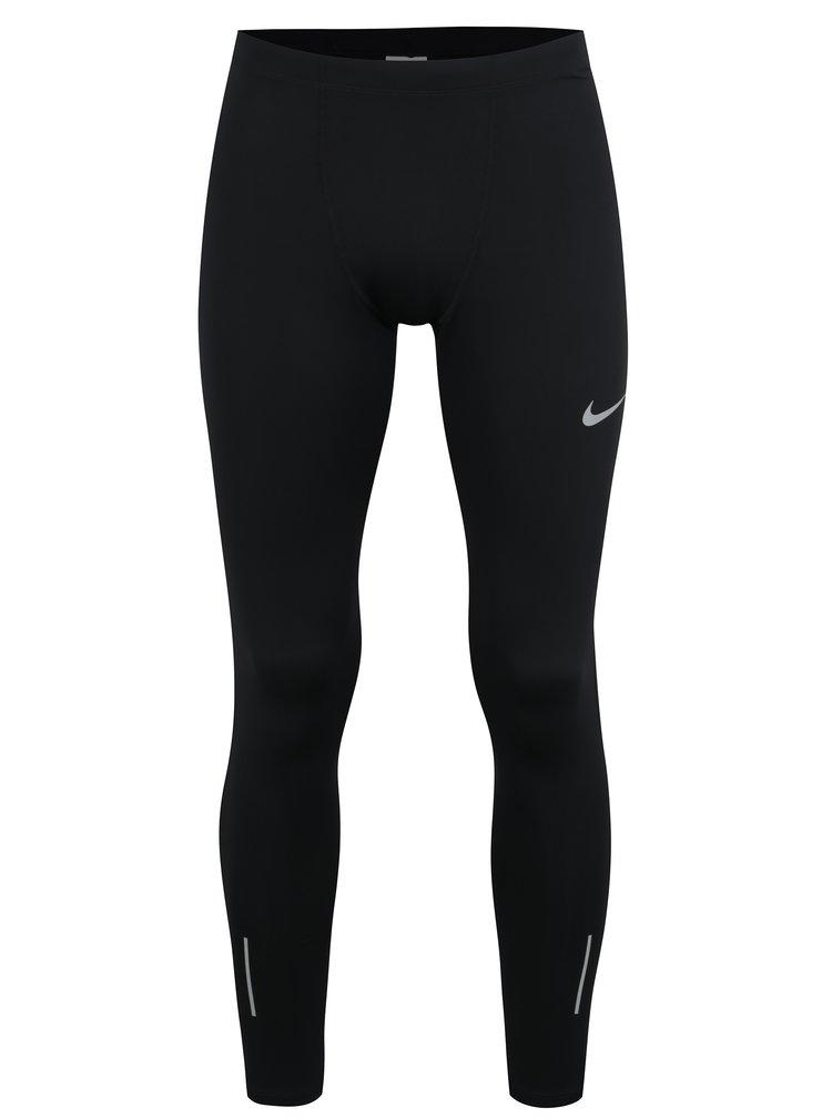 Černé pánské funkční legíny Nike